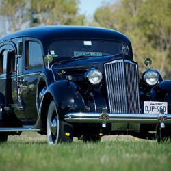1936 Packard Hearse